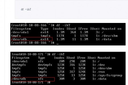 CentOS服务器维护之基本操作:扩容硬盘